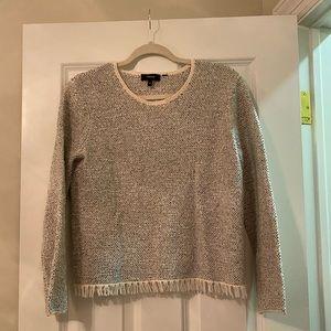 Theory Grey Knit Sweater
